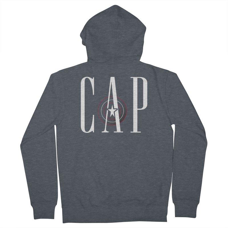 Cap Women's French Terry Zip-Up Hoody by Evan Ayres Design