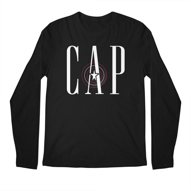 Cap Men's Regular Longsleeve T-Shirt by Evan Ayres Design