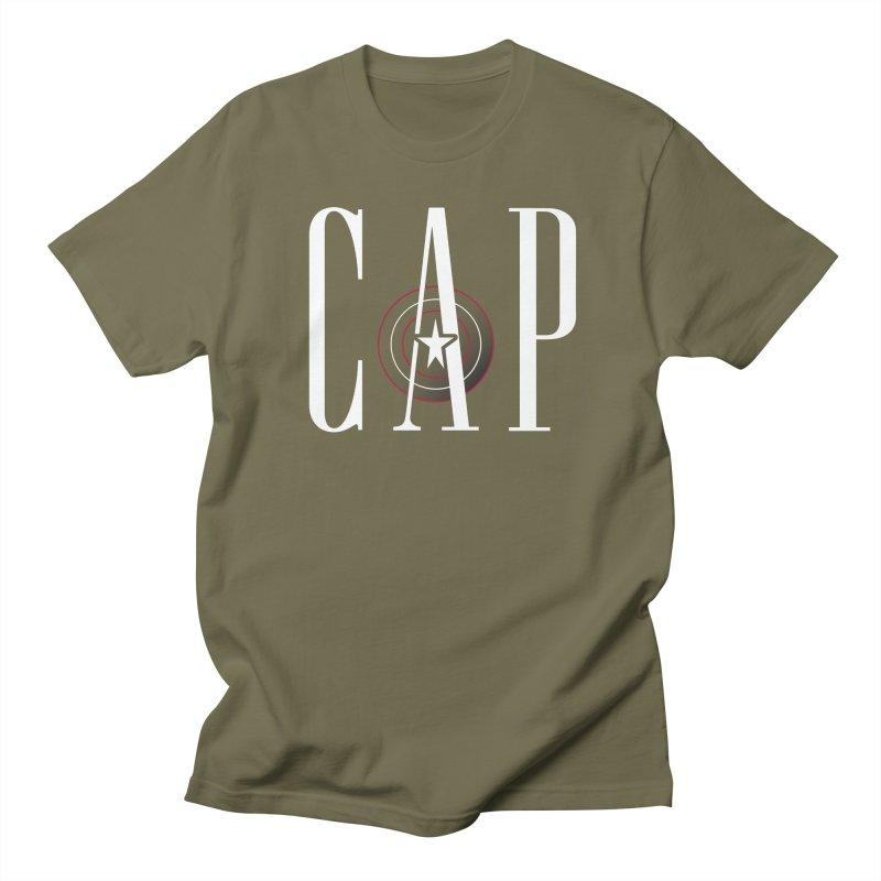 Cap Men's Regular T-Shirt by Evan Ayres Design