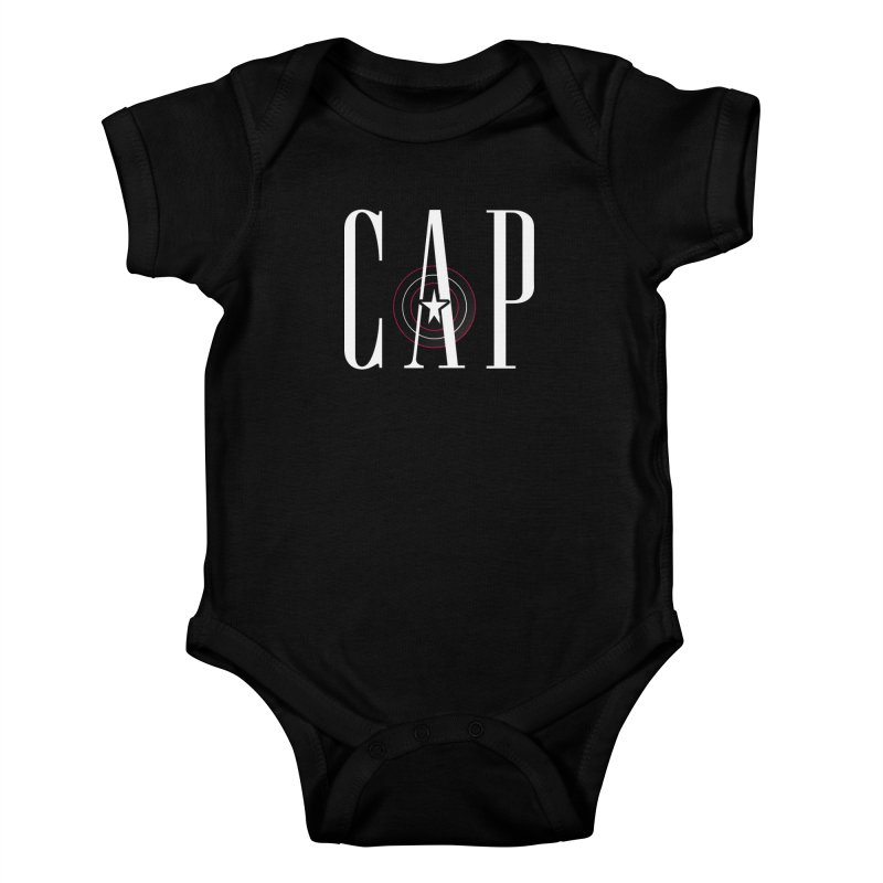Cap Kids Baby Bodysuit by Evan Ayres Design
