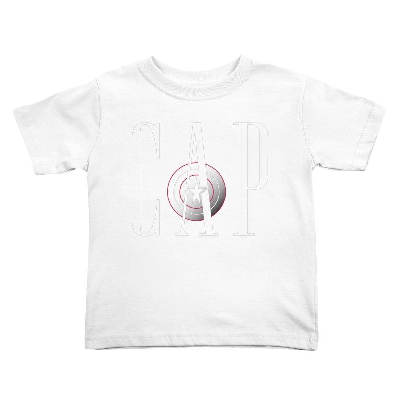 Cap Kids Toddler T-Shirt by Evan Ayres Design