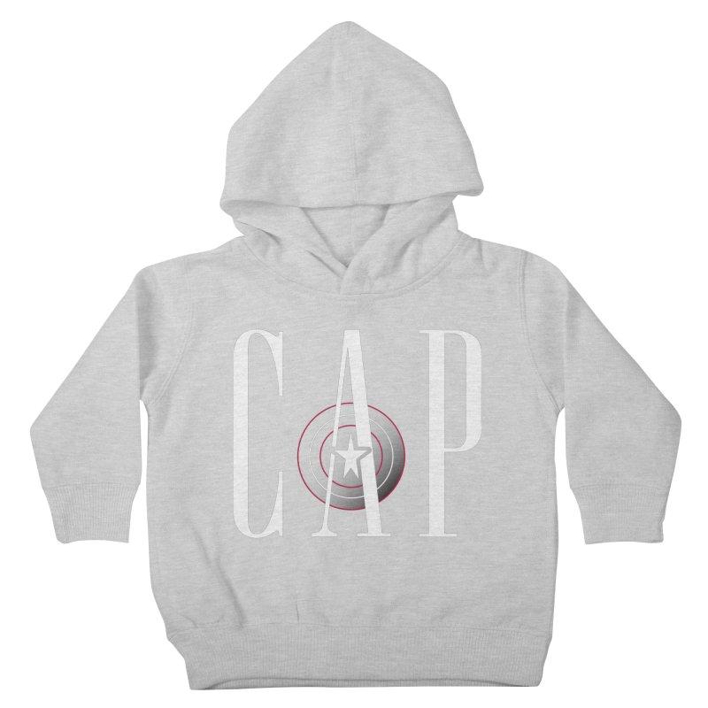 Cap Kids Toddler Pullover Hoody by Evan Ayres Design