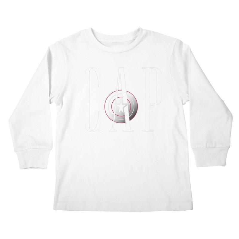 Cap Kids Longsleeve T-Shirt by Evan Ayres Design