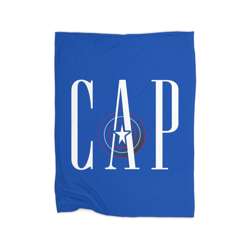 Cap Home Fleece Blanket Blanket by Evan Ayres Design