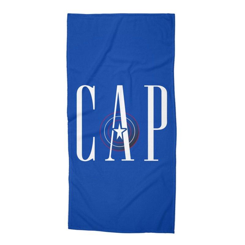 Cap Accessories Beach Towel by Evan Ayres Design