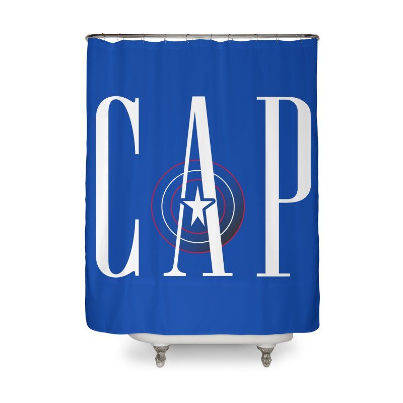Cap Home Shower Curtain by Evan Ayres Design