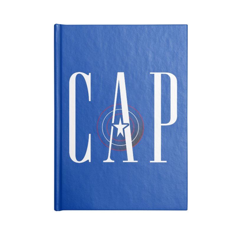 Cap Accessories Blank Journal Notebook by Evan Ayres Design