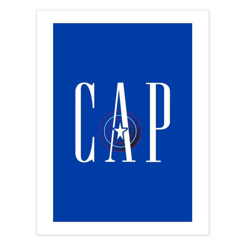 Cap Home Fine Art Print by Evan Ayres Design