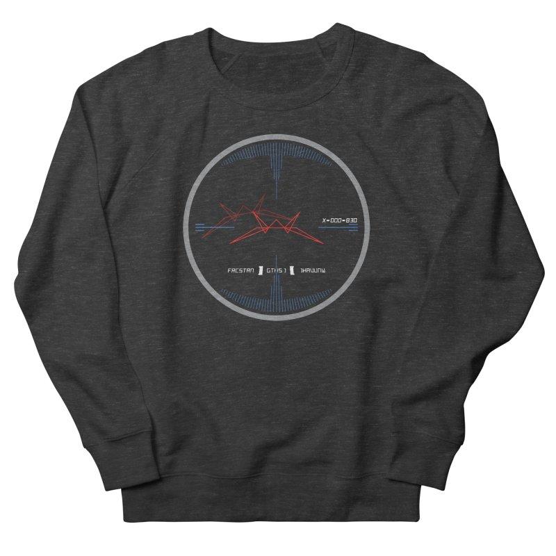 Orange Leader,  Look Out! Men's French Terry Sweatshirt by Evan Ayres Design