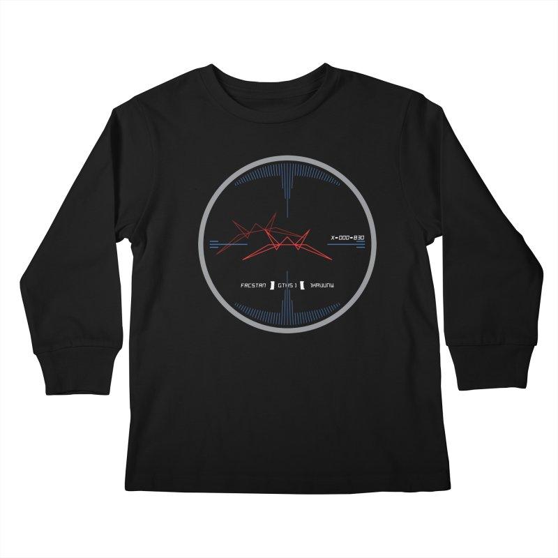 Orange Leader,  Look Out! Kids Longsleeve T-Shirt by Evan Ayres Design