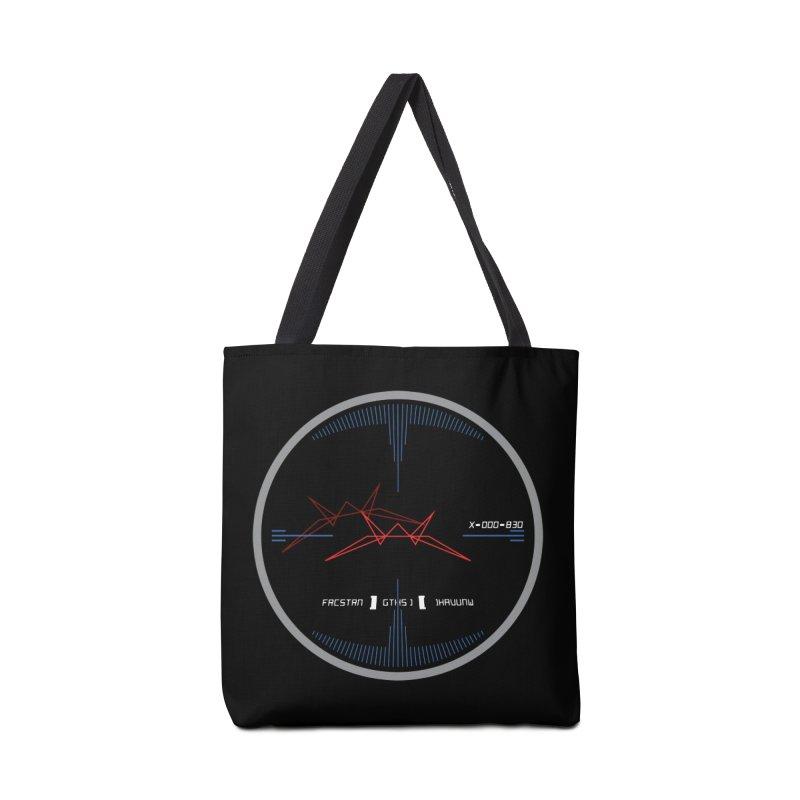 Orange Leader,  Look Out! Accessories Tote Bag Bag by Evan Ayres Design