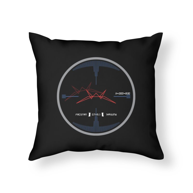 Orange Leader,  Look Out! Home Throw Pillow by Evan Ayres Design