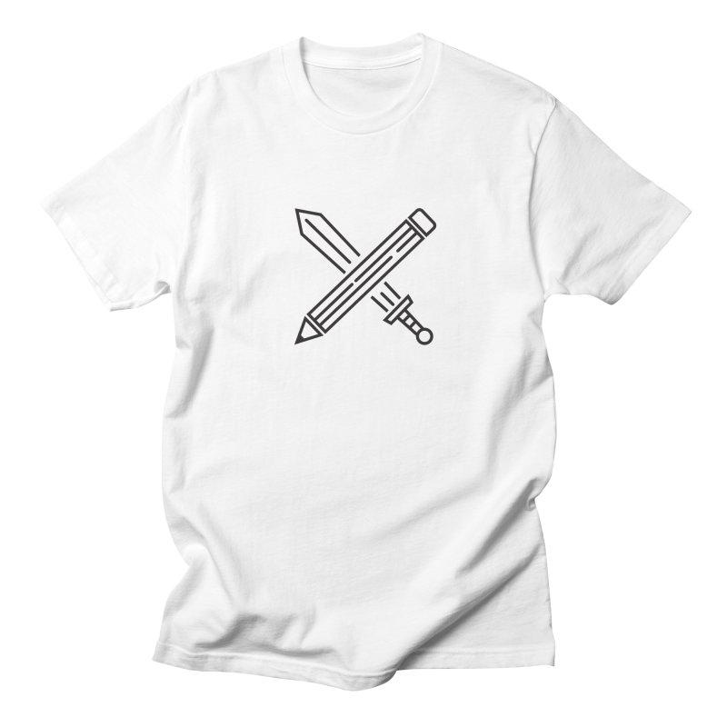 Create Or Die (Art is a Weapon) Men's T-Shirt by evanluza's Artist Shop