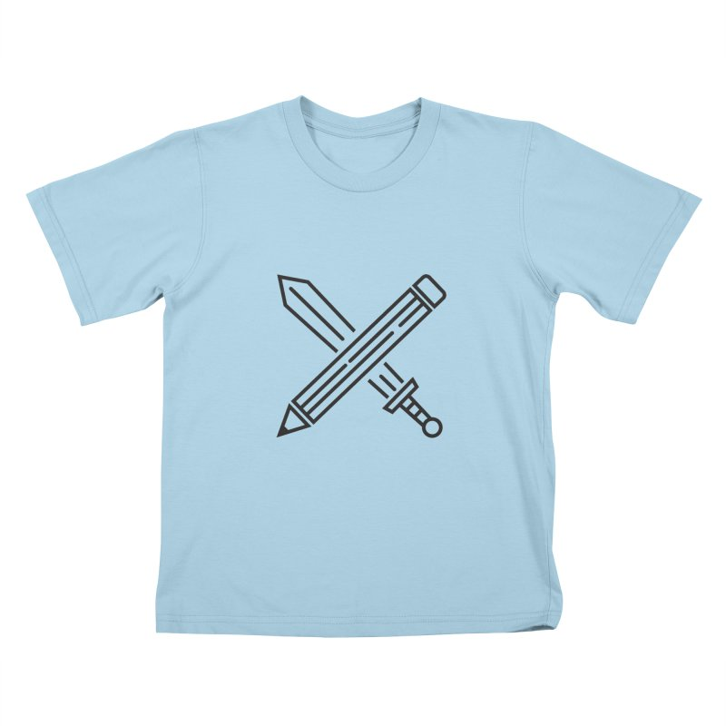 Create Or Die (Art is a Weapon) Kids T-Shirt by evanluza's Artist Shop