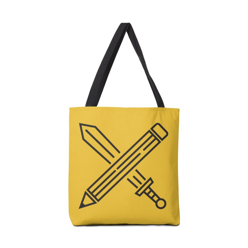 Create Or Die (Art is a Weapon) Accessories Bag by evanluza's Artist Shop