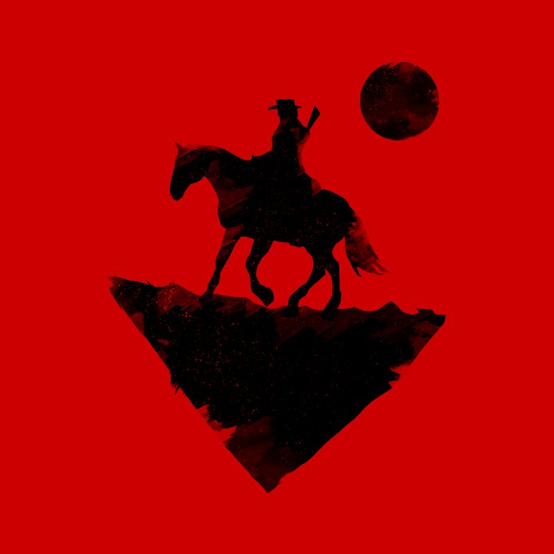 Redemption (The Lone Cowboy) None  by evanluza's Artist Shop