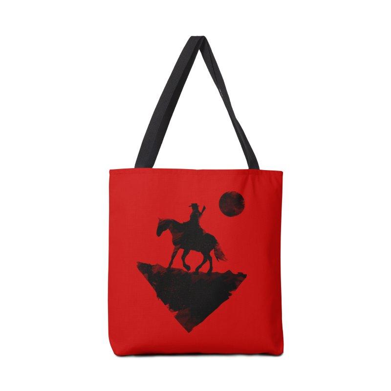 Redemption (The Lone Cowboy) Accessories Bag by evanluza's Artist Shop