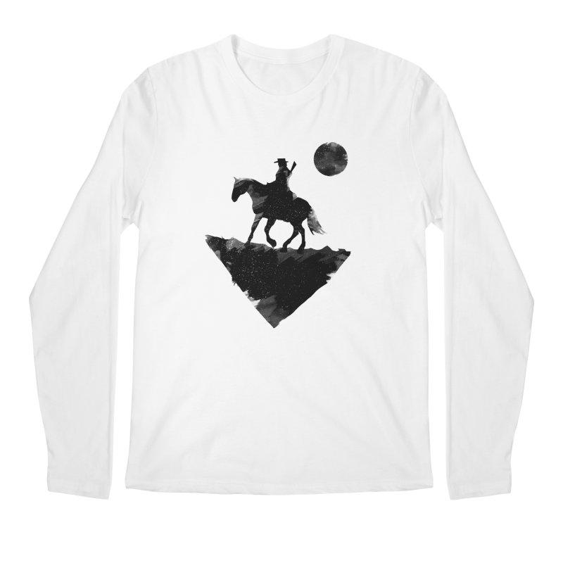 Redemption (The Lone Cowboy) Men's Longsleeve T-Shirt by evanluza's Artist Shop