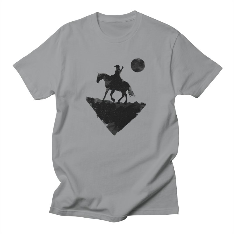 Redemption (The Lone Cowboy) Men's T-Shirt by evanluza's Artist Shop