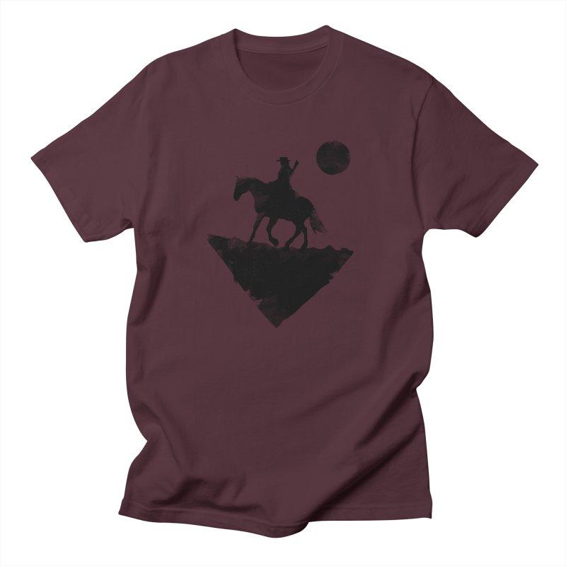 Redemption (The Lone Cowboy) Men's T-Shirt by evanluza's Artist Shop