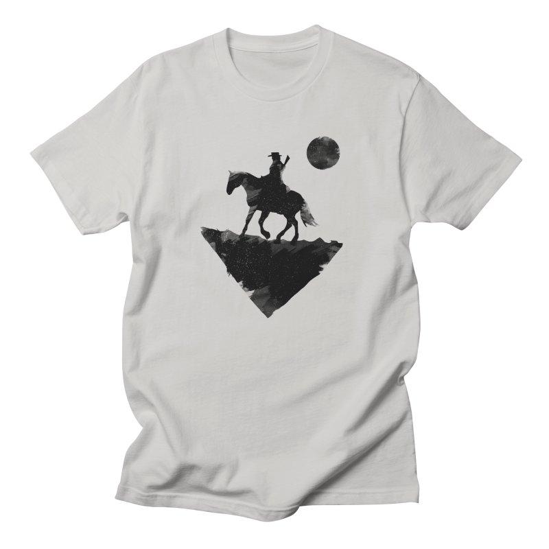Redemption (The Lone Cowboy) Men's Regular T-Shirt by evanluza's Artist Shop