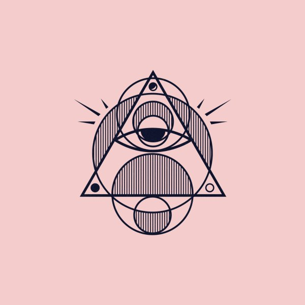 image for Omnipotent (The All Seeing Geometric Pyramid Eye)