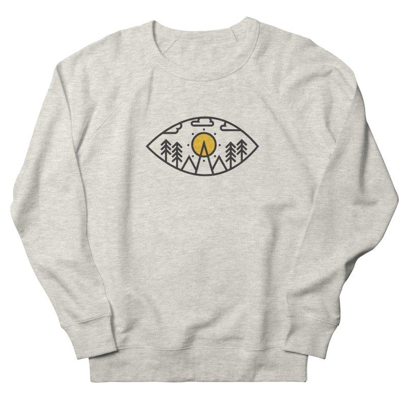 Awake (Geometric Nature Vision) Women's Sweatshirt by evanluza's Artist Shop