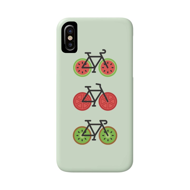 Fresh Wheels (A Healthy Bike Ride) Accessories Phone Case by evanluza's Artist Shop