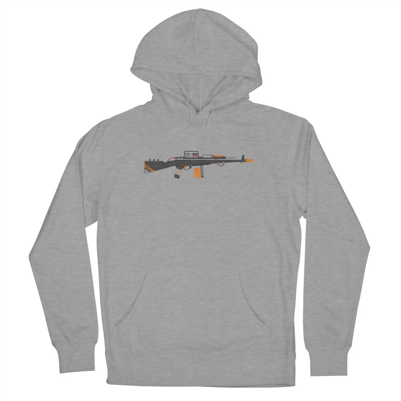 Noob Slayer (The Ultimate Gamer Weapon) Women's French Terry Pullover Hoody by evanluza's Artist Shop