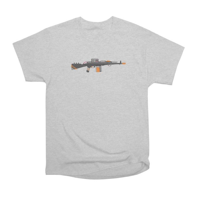 Noob Slayer (The Ultimate Gamer Weapon) Women's Heavyweight Unisex T-Shirt by evanluza's Artist Shop