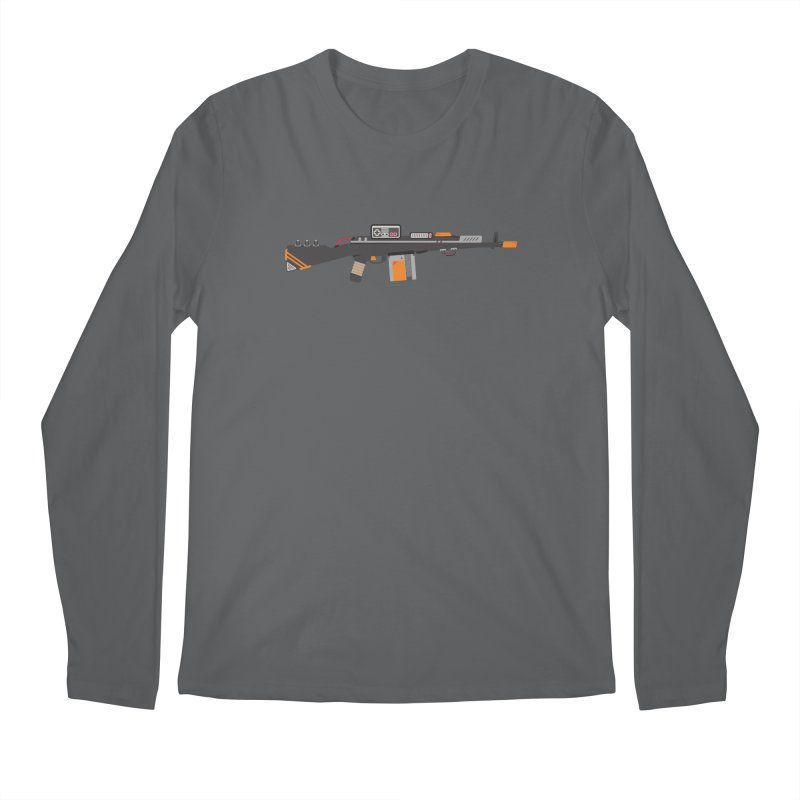 Noob Slayer (The Ultimate Gamer Weapon) Men's Longsleeve T-Shirt by evanluza's Artist Shop
