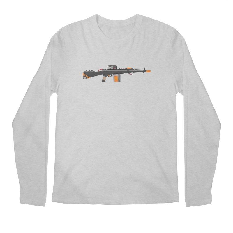Noob Slayer (The Ultimate Gamer Weapon) Men's Regular Longsleeve T-Shirt by evanluza's Artist Shop