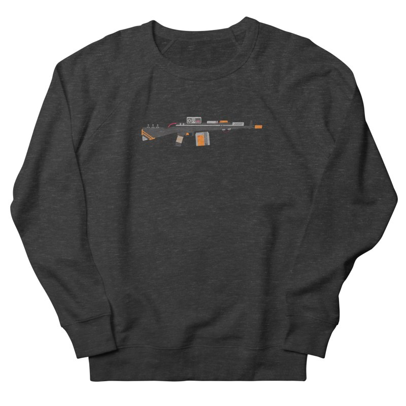 Noob Slayer (The Ultimate Gamer Weapon) Women's French Terry Sweatshirt by evanluza's Artist Shop