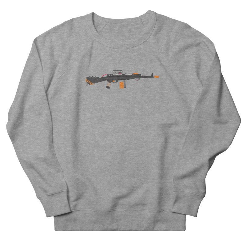 Noob Slayer (The Ultimate Gamer Weapon) Men's French Terry Sweatshirt by evanluza's Artist Shop
