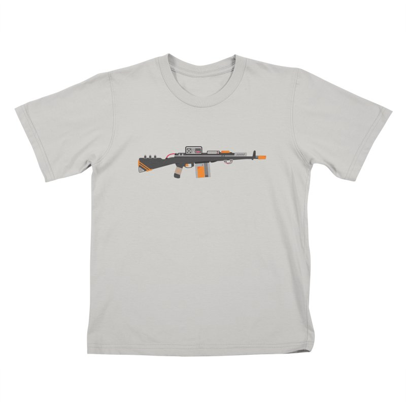 Noob Slayer (The Ultimate Gamer Weapon) Kids T-Shirt by evanluza's Artist Shop