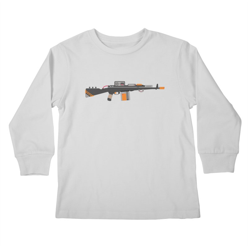 Noob Slayer (The Ultimate Gamer Weapon) Kids Longsleeve T-Shirt by evanluza's Artist Shop