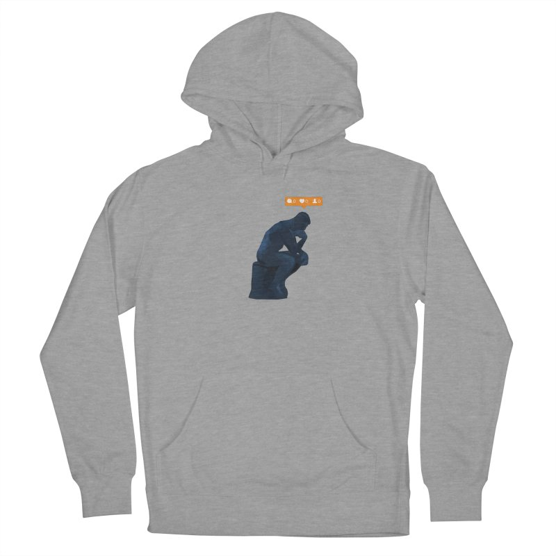 21st Century Thinker (The Lonely Instagram User) Women's Pullover Hoody by evanluza's Artist Shop