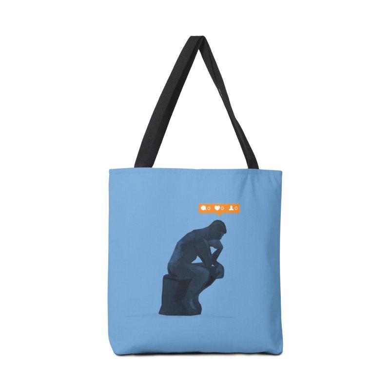 21st Century Thinker (The Lonely Instagram User) Accessories Bag by evanluza's Artist Shop
