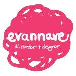 Logo for Evannave's Artist Shop