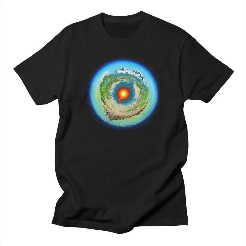 Element in Men's T-shirt Black by evans's Artist Shop