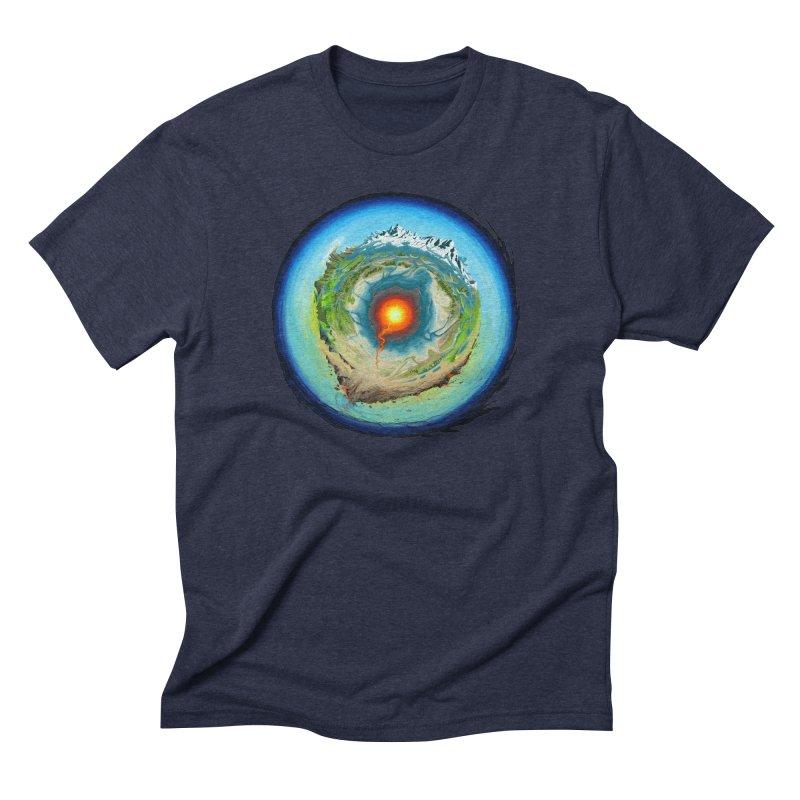 Element Men's Triblend T-shirt by evans's Artist Shop