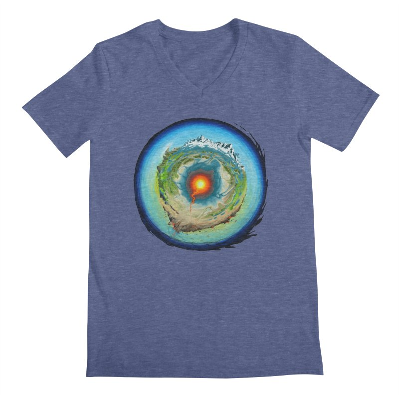 Element Men's V-Neck by evans's Artist Shop
