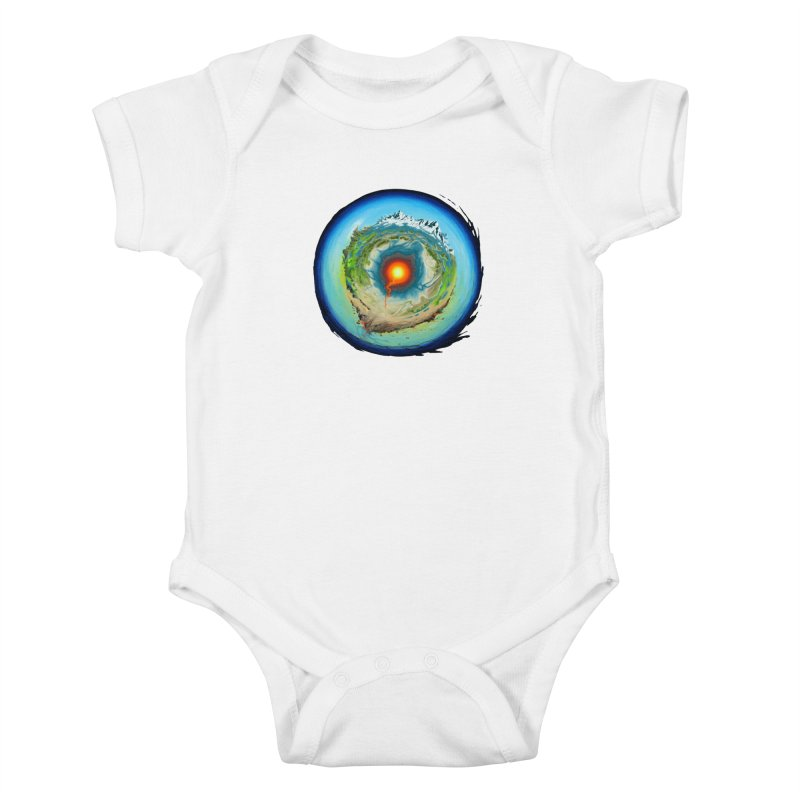 Element Kids Baby Bodysuit by evans's Artist Shop