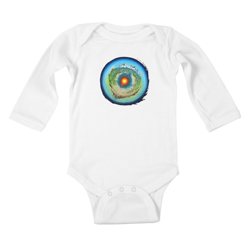 Element Kids Baby Longsleeve Bodysuit by evans's Artist Shop