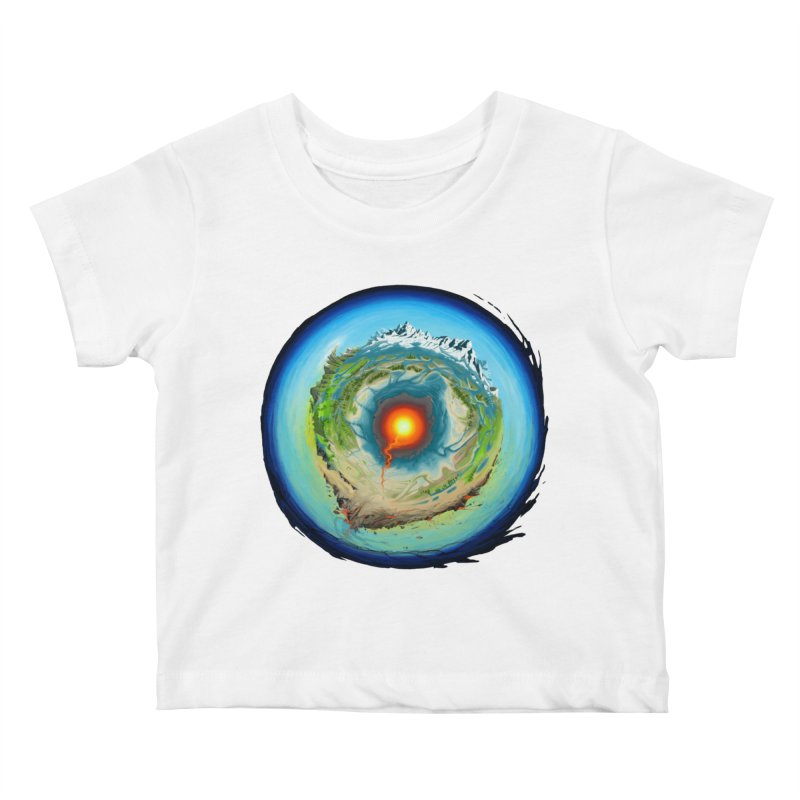 Element Kids Baby T-Shirt by evans's Artist Shop