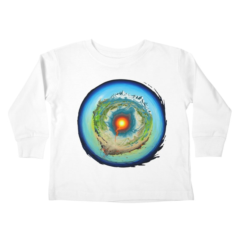 Element Kids Toddler Longsleeve T-Shirt by evans's Artist Shop