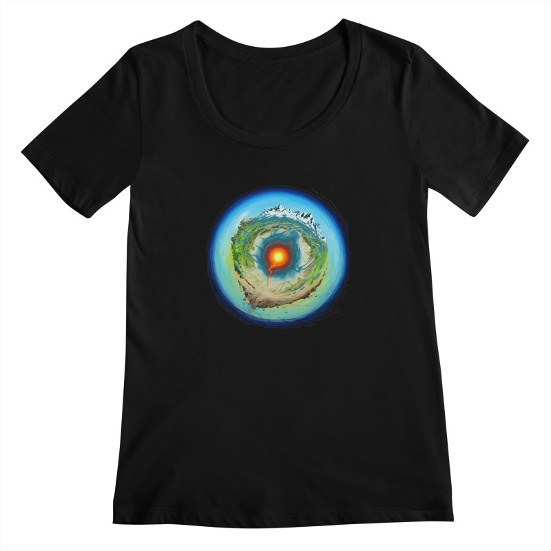 Element Women's Scoopneck by evans's Artist Shop