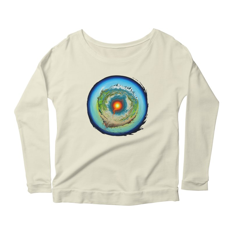 Element Women's Longsleeve Scoopneck  by evans's Artist Shop