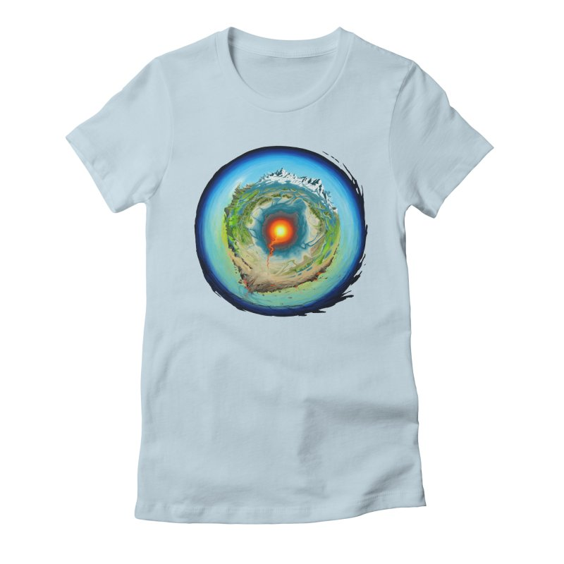 Element Women's Fitted T-Shirt by evans's Artist Shop