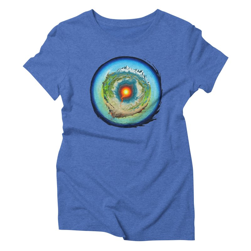 Element Women's Triblend T-Shirt by evans's Artist Shop